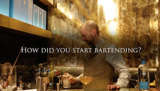 How did you start bartending?