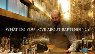 Why do you love bartending?