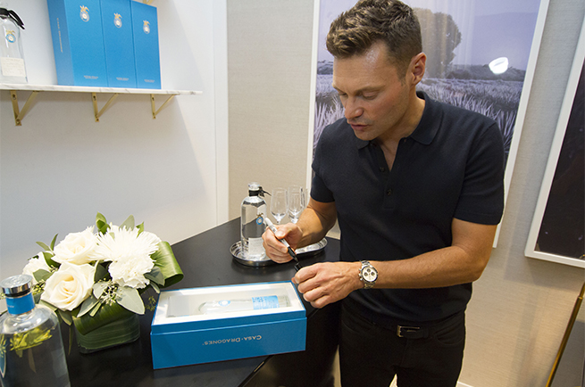 Ryan Seacrest of iHeart Radio Music Festival joins us in our new Tasting Room