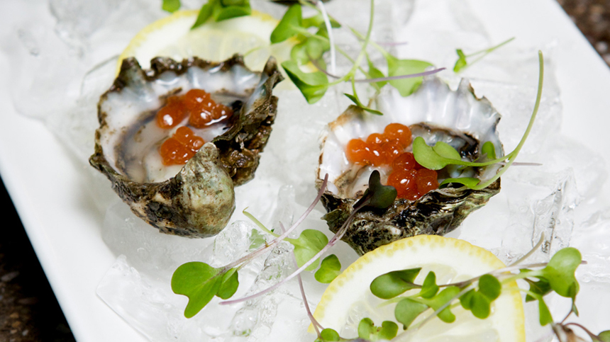 Kumomoto Oysters By Kevin Taylor