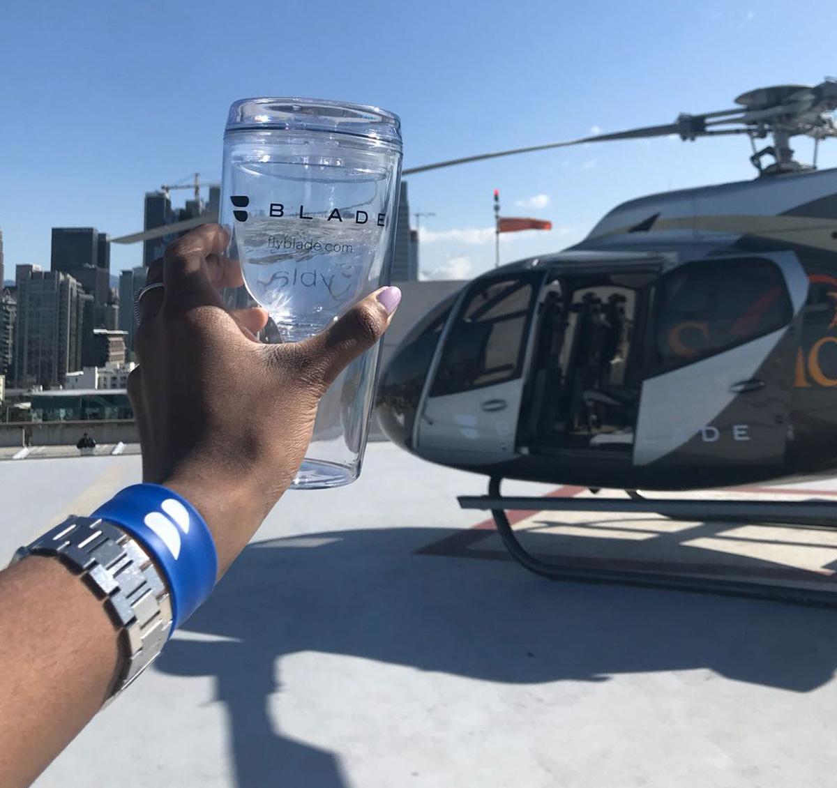Fly to Coachella in style with Blade's Helicopter Service and Tequila Casa Dragones