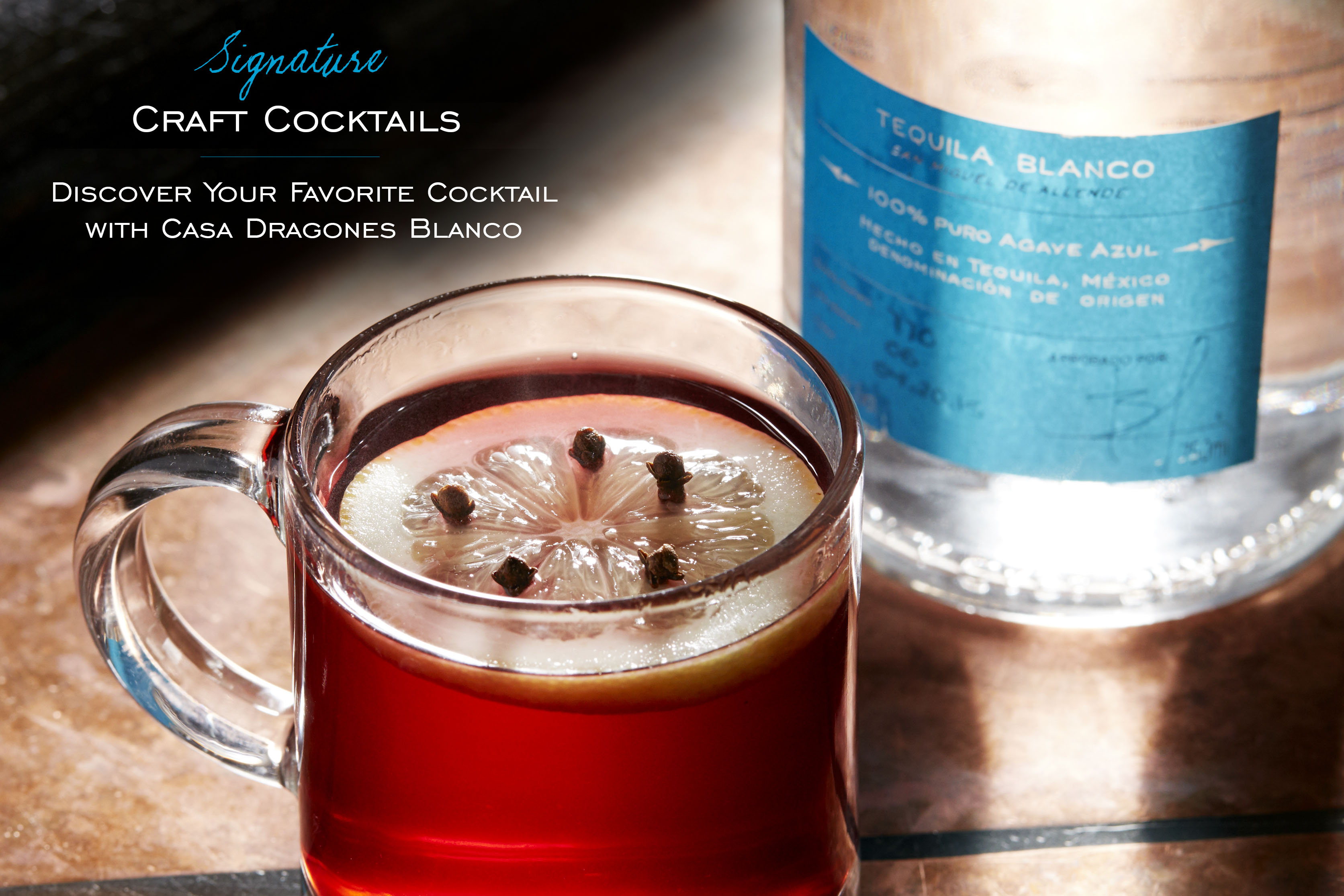 Casa Dragones Spiced Winter Holiday Cocktail
